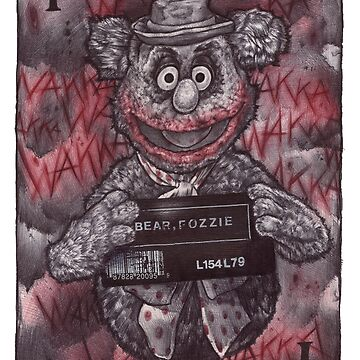 Fozzie Bear Joker by Pogoshots