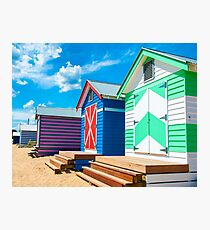 Bathing houses Photographic Print