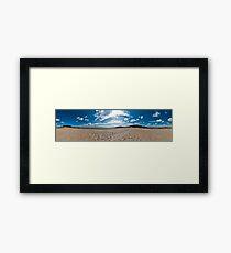 Newborough Beach 360 Panorama Framed Print