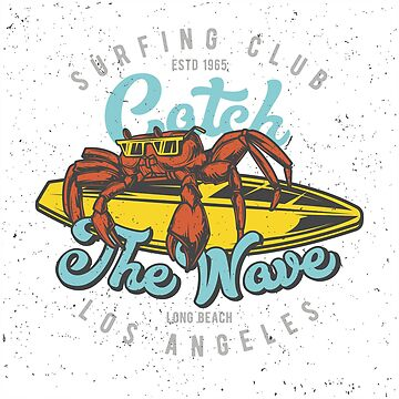 Surf Crab - Los Angeles 2 by Taz-Clothing