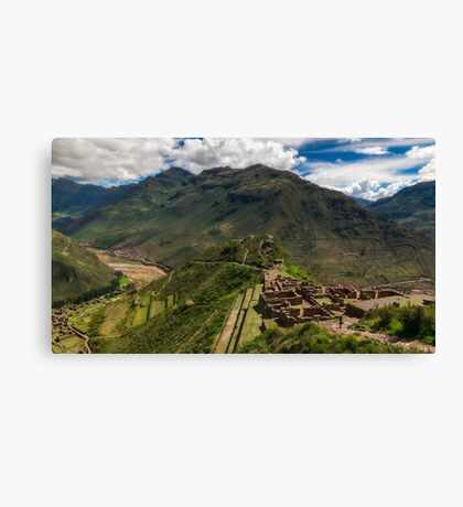 Pisac - Peru Canvas Print