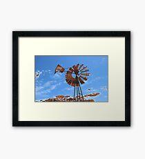 Aged Rust Framed Print