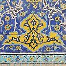 Masjed-e Shah - symmetry by Marjolein Katsma