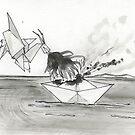 « Origami Bataille navale » par avec2ailes