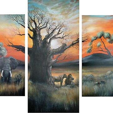 Africa's Big 5 by cheriedirksen