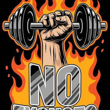 No Excuses | Training Workout Fitness Muscles by anziehend