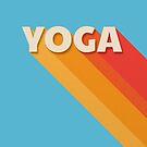 Yoga retro typography by ShowMeMars