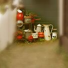 Pots and pans by Ann Persse