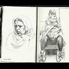 Sketchbook, Humans, London by Cameron Hampton