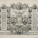 US-Unabhängigkeitserklärung von Kurz & Allison (15. Dezember 1884) von allhistory