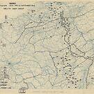 23. September 1944 Zwölfte Armeegruppen-Lagekarte des Zweiten Weltkrieges von allhistory