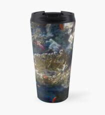Mysterious And Beautiful Red Sea Underwater World Travel Mug