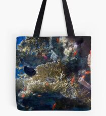 Mysterious And Beautiful Red Sea Underwater World Tote Bag
