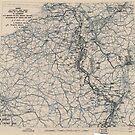 25. Januar 1945 Weltkrieg Zwölfte Armeegruppe Situationskarte von allhistory