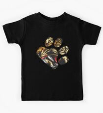 Tiger Eyes In Paw Art | Cool Awesome Big Cat Design Gift Kids Tee