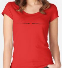 Love you T-Shirt Women's Fitted Scoop T-Shirt