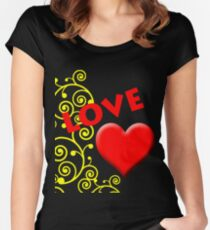Love you special Women's Fitted Scoop T-Shirt