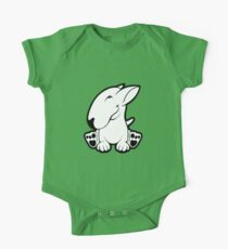 Side Sit English Bull Terrier  Kids Clothes