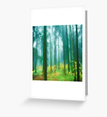 Fairytale #green Greeting Card