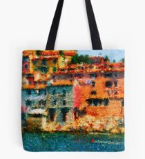 The coast, painting Tote Bag