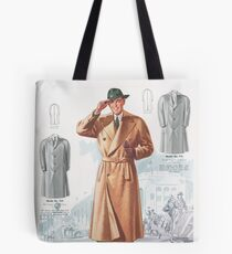 Vintage 1940s gent Tote Bag