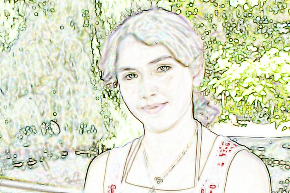 Anya In Pencil by purpleneil59