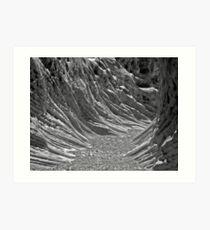 Neural Canyon Art Print