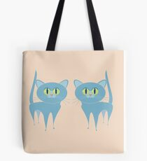 A PAIR OF PURRING CATS Tote Bag
