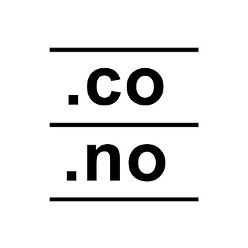.co.no Norway Internet Country Code design by GetItGiftIt