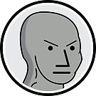 Angry NPC Meme Sticker by unluckydevil