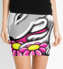 English Bull Terrier Daisy Mini Skirt