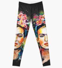 Frida Kahlo (dunkle Ausgabe) Leggings
