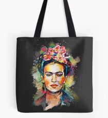 Frida Kahlo (Dark Edition) Tote Bag