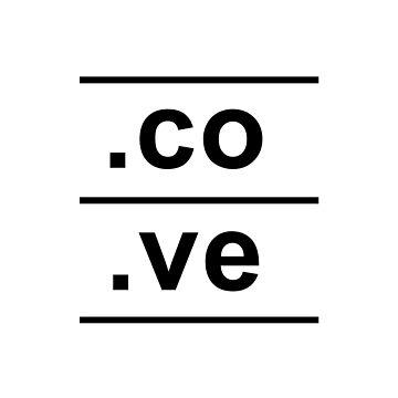 .co.ve Venezuela Internet Country Code design by GetItGiftIt