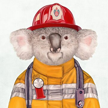 Koala Firefighter by AnimalCrew