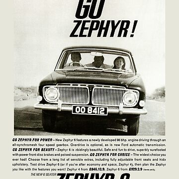 FORD ZEPHYR by ThrowbackMotors