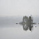 Island in mist by julie08