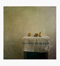pears still life Photographic Print