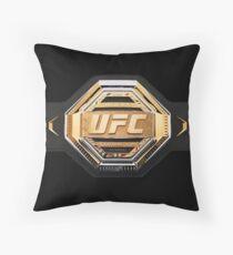 UFC belt 2019 Throw Pillow