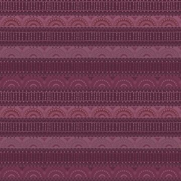 Tribal Pattern - Burgundy by Skullz23