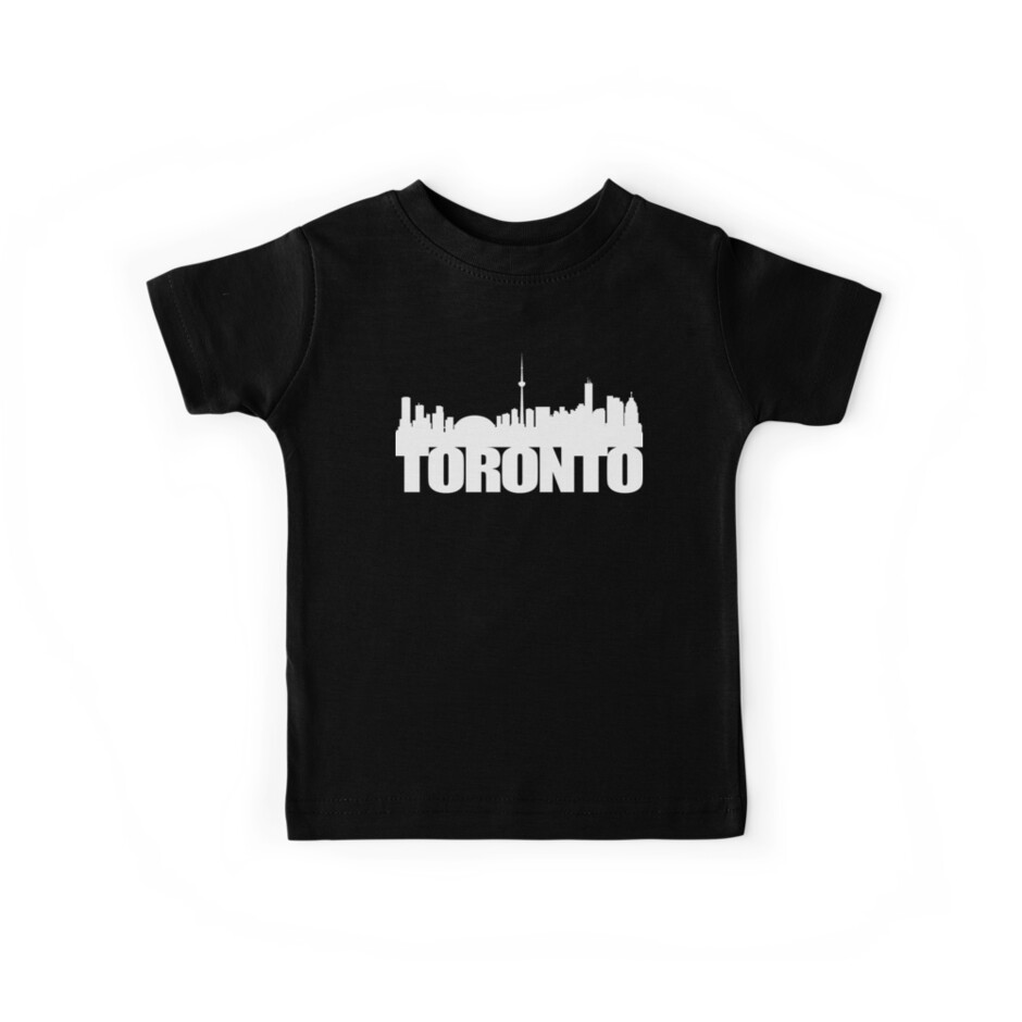 Toronto Skyline white by ianscott76