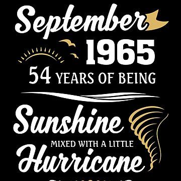 September 1965 Sunshine Mixed With A Little Hurricane by lavatarnt