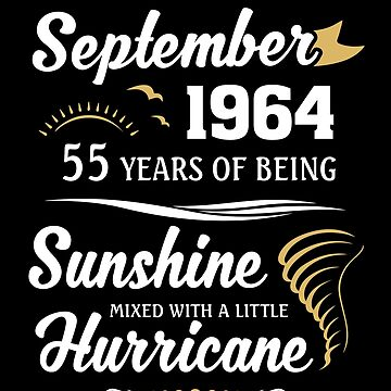 September 1964 Sunshine Mixed With A Little Hurricane by lavatarnt