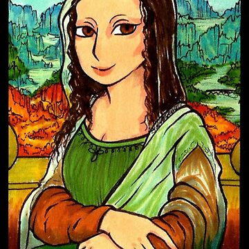 Mona Lisa - Gioconda by ValentinasWorks