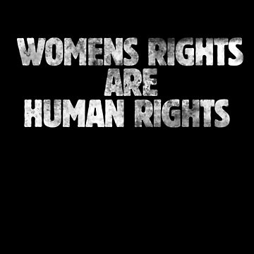 Women's rights are human rights  by Boogiemonst