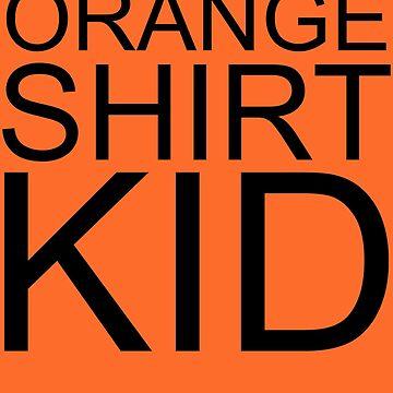 Orange Shirt Kid Orange Justice by PM-TShirts