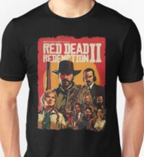 red dead redemption 2 gaming Unisex T-Shirt