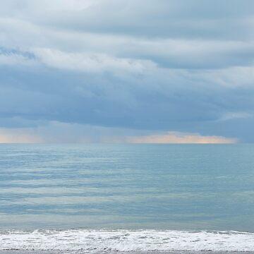 Sky and sea by fourretout