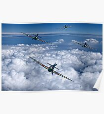 Hurricanes On Your Tail Poster