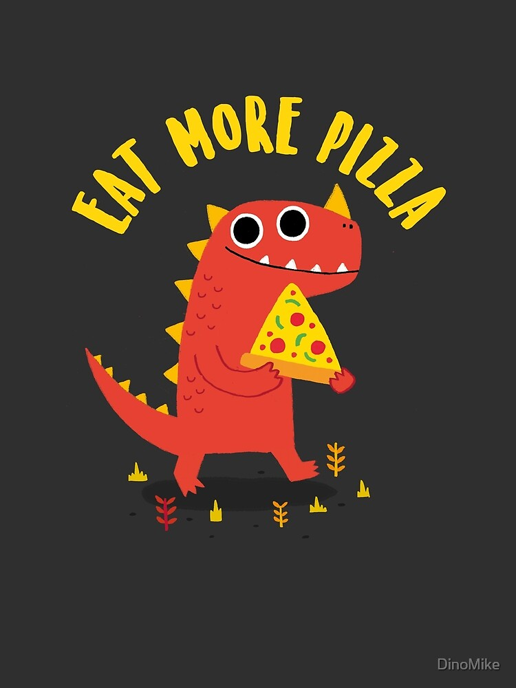 Pizzasaurus by DinoMike
